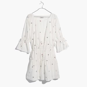Madewell Making Faces Tiered Dress in XS